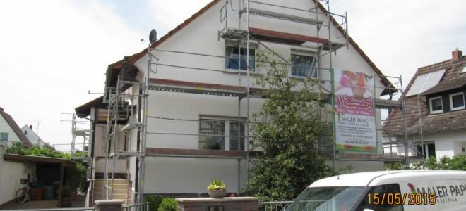 Fassadenanstrich, Rödermark